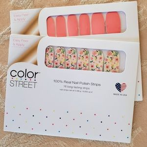 Color Street Caribbean Coral & Let It Grow